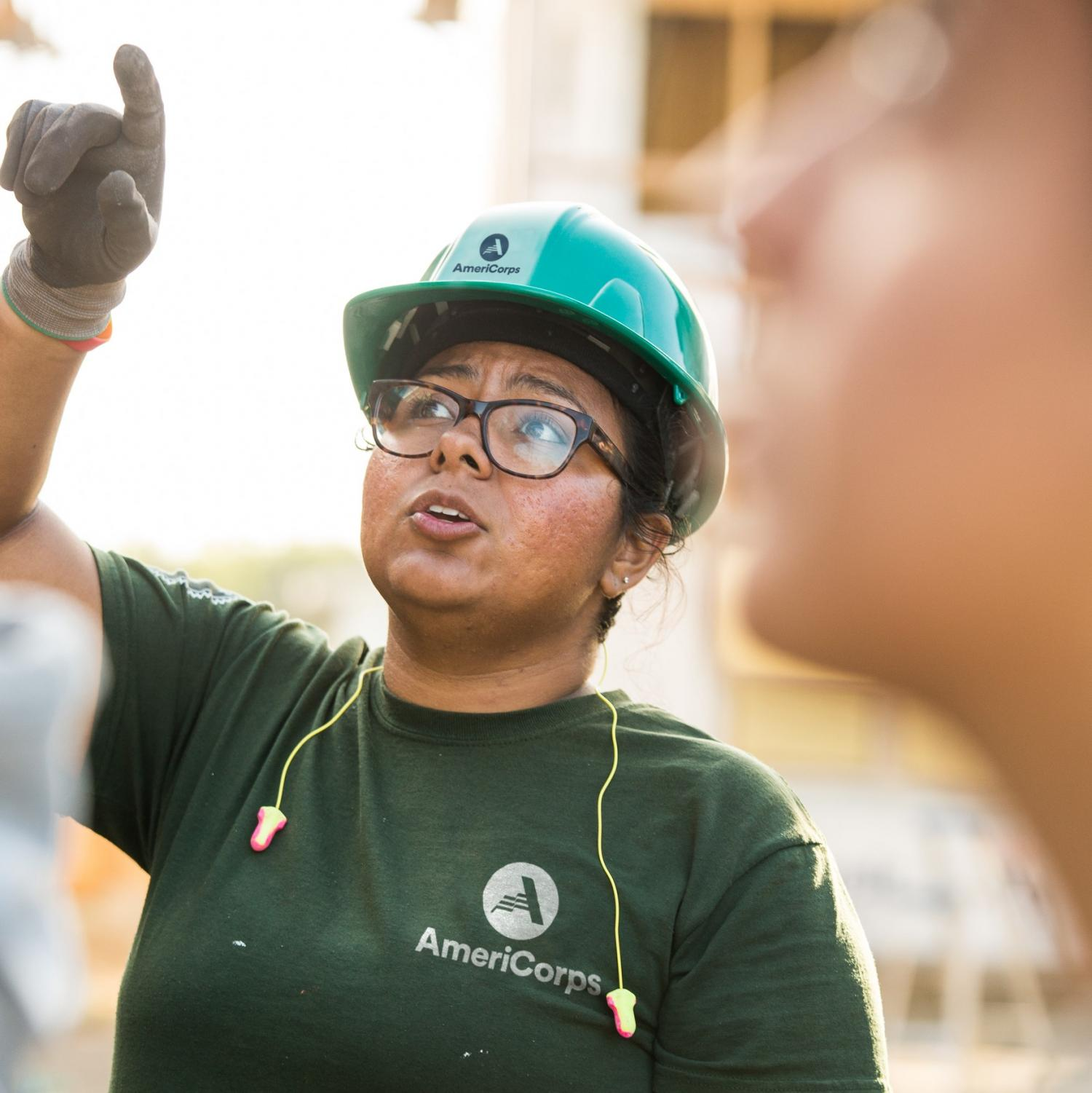 AmeriCorps team leader
