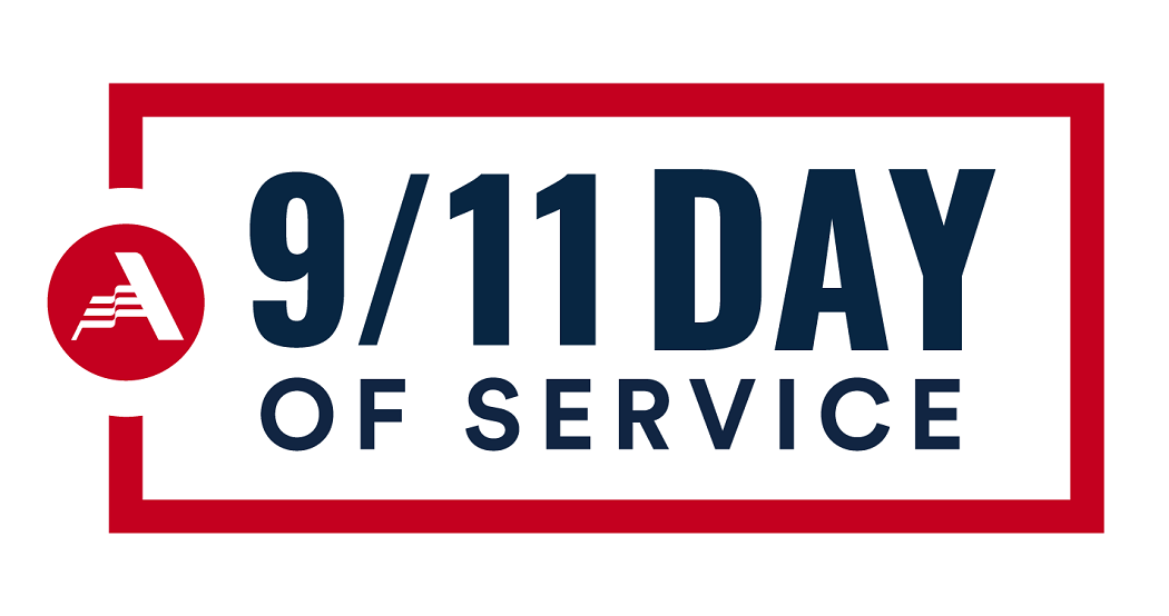 9/11 Day of Service and Remembrance header for webpage
